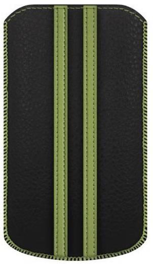 Katinkas Stripe iPhone tasje Geschikt voor model (GSM's): iPhone 4, iPhone 4s Zwart, Groen