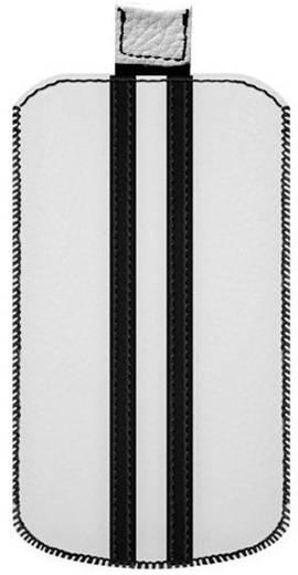 Katinkas Stripe iPhone tasje Geschikt voor model (GSM's): iPhone 4, iPhone 4s Wit, Zwart
