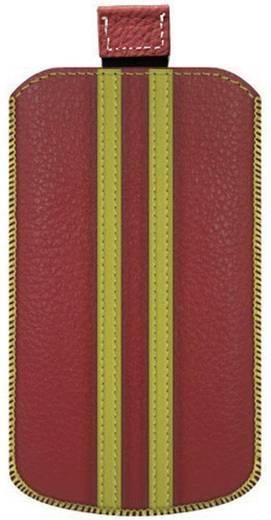 Katinkas Stripe iPhone tasje Geschikt voor model (GSM's): iPhone 4, iPhone 4s Rood, Geel