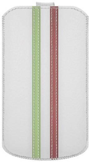 Katinkas Stripe iPhone tasje Geschikt voor model (GSM's): iPhone 4, iPhone 4s Wit, Groen, Rood