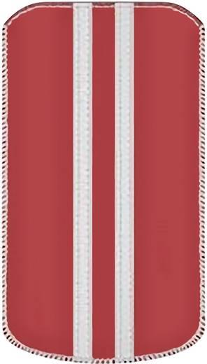 Katinkas Stripe iPhone tasje Geschikt voor model (GSM's): iPhone 4, iPhone 4s Rood, Wit