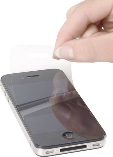Renkforce IP4-001 Screenprotector (folie) Apple iPhone 4, Apple iPhone 4S 1 stuks