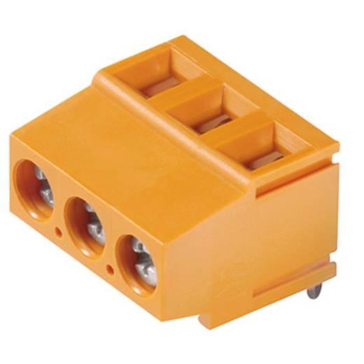 Klemschroefblok 2.50 mm² Aantal polen 3 LM 5.00/03/180 3.5SN OR BX Weidmüller Oranje 500 stuks