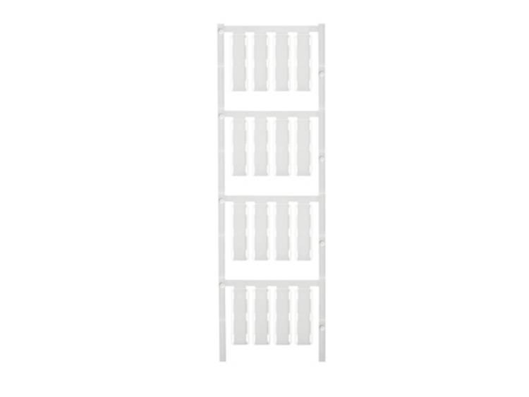 Kabelmarkering Montagemethode: Kabelbinder Markeringsvlak: 40 x 8.50 mm Geschikt voor serie Enkele aders, Universeel gebruik Wit Weidmüller SFX 9/40 S MC NE WS