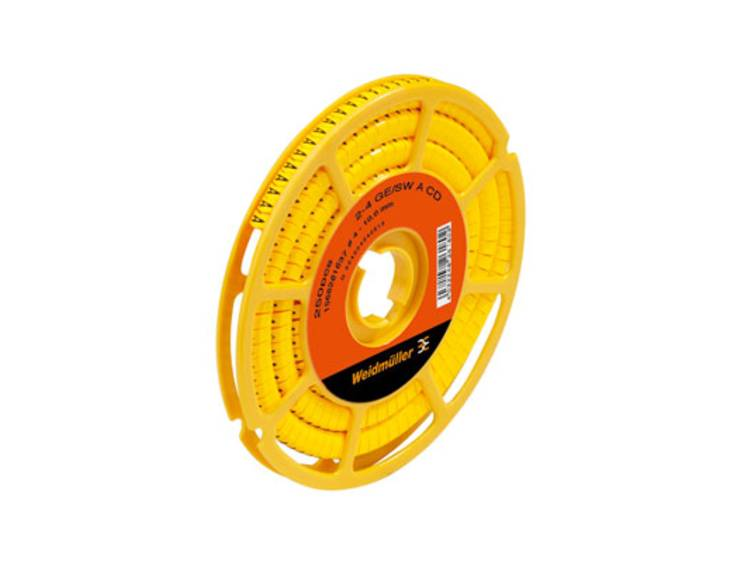 Weidmüller 1568261645 CLI C 2-4 GE/SW E CD Markeerring Opdruk E Buitendiameter 4 tot 10 mm