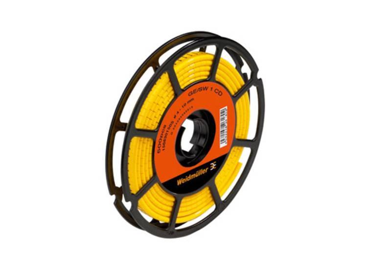 Weidmüller 1568301645 CLI M 2-4 GE/SW E CD Markeerring Opdruk E Buitendiameter 10 tot 317 mm