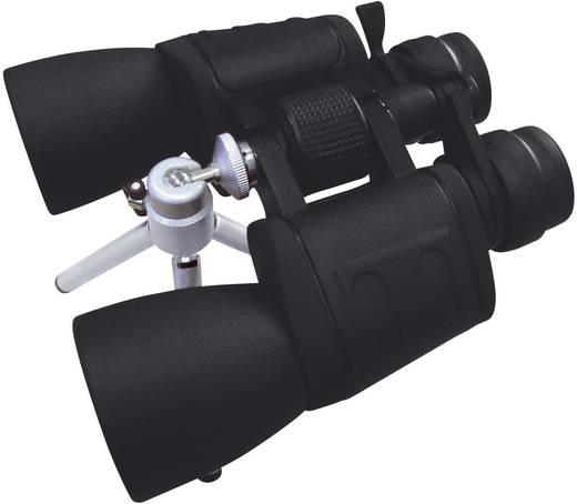 Zoom-verrekijker 60 mm Zwart (met rubber bekleed)