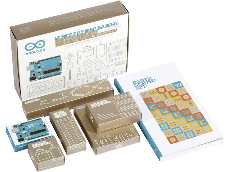 Arduino Starter Kit the starter kit English