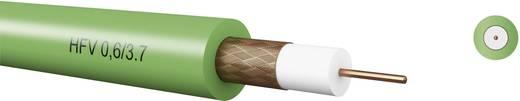 Kabeltronik 7406037S0 Coaxkabel Buitendiameter: 6 mm 75 Ω Groen Per meter