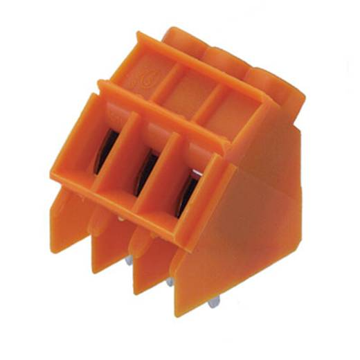 Klemschroefblok 4.00 mm² Aantal polen 3 LP5.00/3/135 3.2 OR Weidmüller Oranje 100 stuks