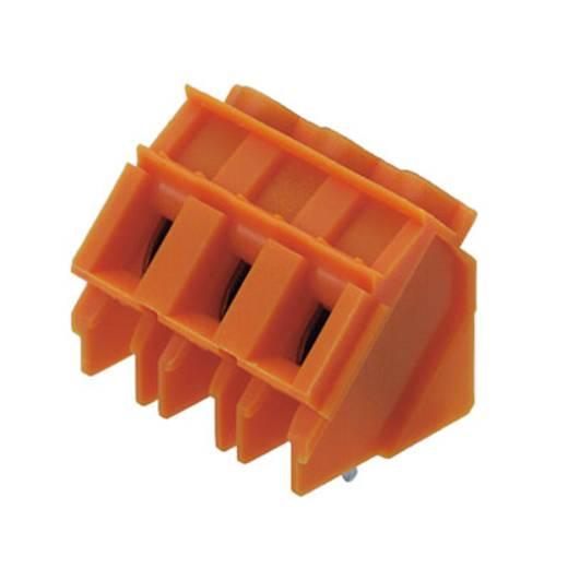Klemschroefblok 4.00 mm² Aantal polen 3 LP7.50/3/135 3.2 OR Weidmüller Oranje 100 stuks
