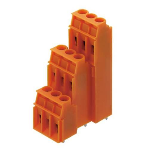 Drie niveau klem 4.00 mm² Aantal polen 18 LP3R 5.08/18/90 3.2SN OR BX Weidmüller Oranje 25 stuks