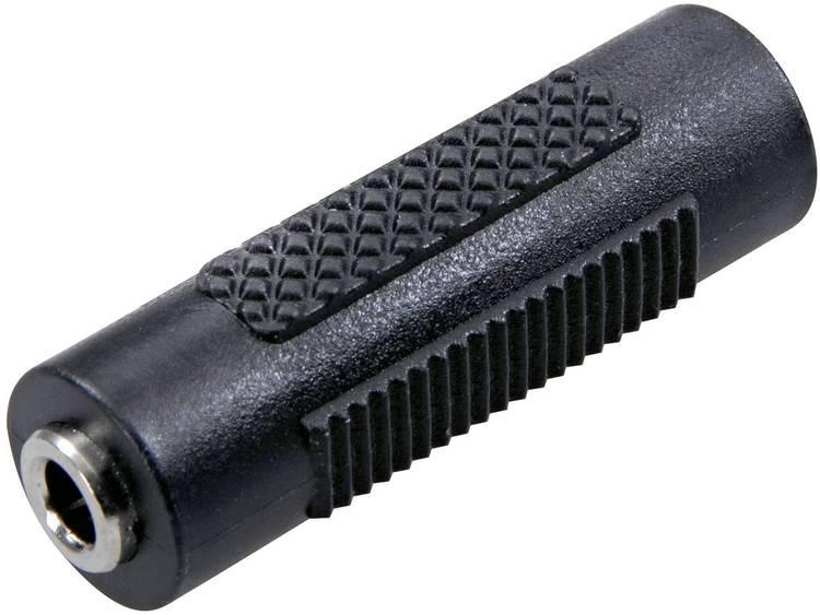 Jackplug Audio Adapter [1x Jackplug female 3.5 mm 1x Jackplug female 3.5 mm] Zwart SpeaKa Profession
