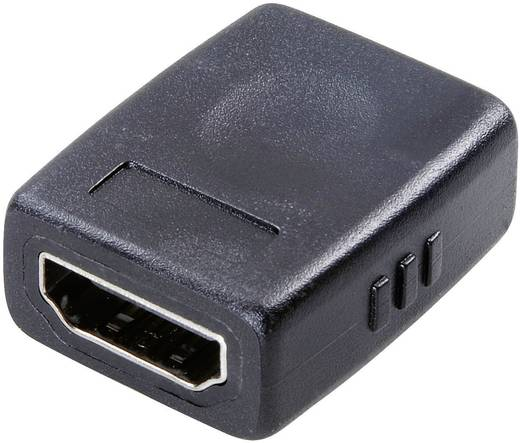 Adapter HDMI [1x HDMI-bus - 1x HDMI-bus] Zwart SpeaKa Professional