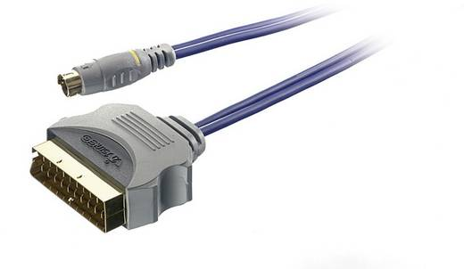 Sound & Image S-Video / SCART adapterkabel 2 m
