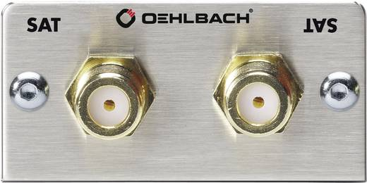 Oehlbach Pro In SAT-multimedia-inzet met Genderchanger