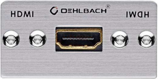 HDMI Multimedia-inzet Met genderchanger Oehlbach PRO IN MMT-G90 HS