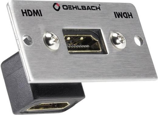 Oehlbach HDMI [ HDMI-bus - HDMI-bus] 0.27 m Zilver