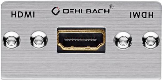 HDMI Multimedia-inzet Met genderchanger Oehlbach PRO IN MMT-G HS