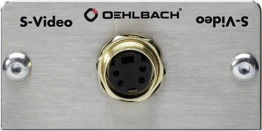 Oehlbach S-Video [ S-video bus - Solderen] 0 m Zilver