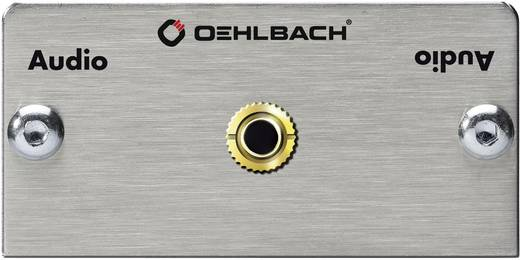 Oehlbach Pro IN 3,5 mm jackplugaansluitingen multimedia inzet