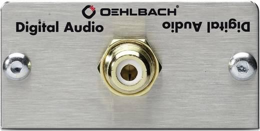 Oehlbach Digitale cinch [ Cinch-koppeling - Solderen] 0 m Zilver