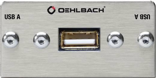 OEHLBACH PRO IN USB-B NAAR USB-A MULTIMEDIA INZET MET KABELBOOM