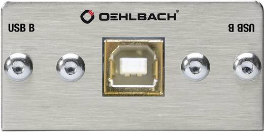 OEHLBACH PRO IN USB-B NAAR USB-B MULTIMEDIA INZET MET KABELBOOM
