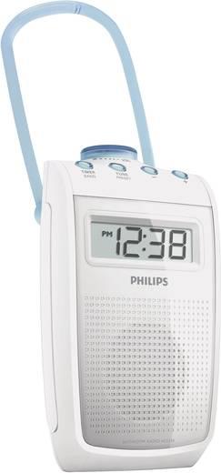 FM Badradio Philips AE2330 Badkamerradio Middengolf, FM Spatwaterbestendig Wit