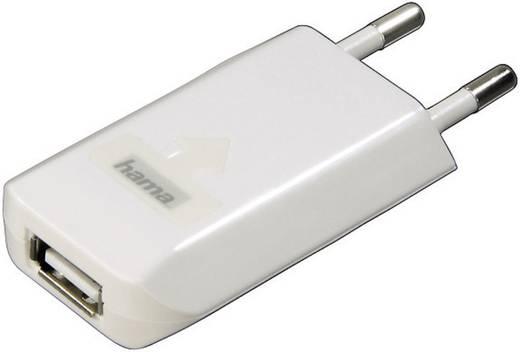 USB-oplader Hama USB-Ladegerät für iPod/iPhone 00014123 (Thuislader) Uitgangsstroom (max.) 800 mA 1 x USB