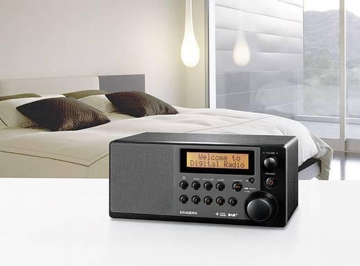 DAB+ Tafelradio Sangean DDR-31+ AUX, DAB+, FM Zwart