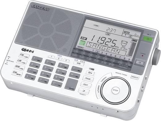 Sangean ATS-909 X wereldontvanger Transistorradio Korte golf, AM, Lange golf, FM Zilver, Wit