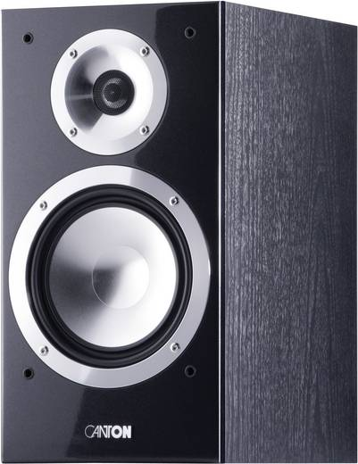 Canton Chrono 502 DC zwart hoogglans Canton Chrono 502 DC compacte staande luidspreker 33 - 40000 Hz 1 paar