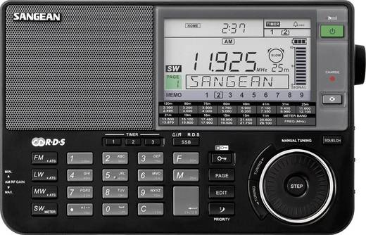Sangean ATS-909 X wereldontvanger, Zwart