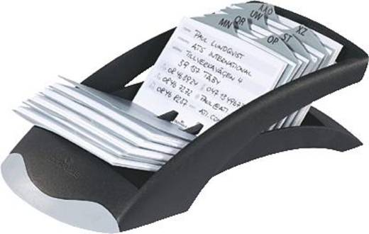 Durable adreskaartenbak TELINDEX desk/2412-01 245x131x67mm zwart
