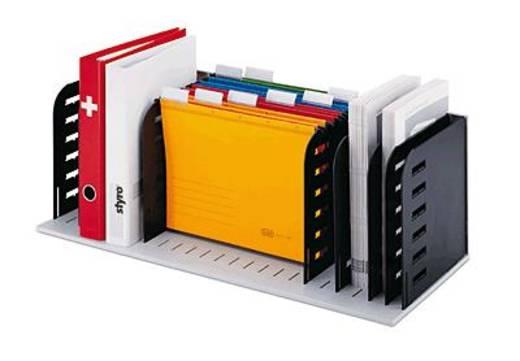 styrorac sorteer station / 2820300798 grijs / zwart 8 scheidingswanden