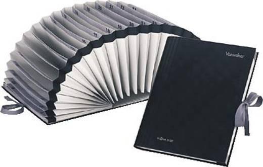Pagna-harmonicamap/24211-04 385x305x30 mm zwart A-Z