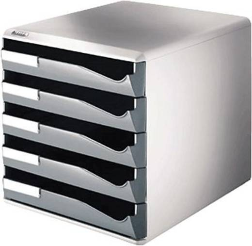Leitz kantoorbox 5 lades/5280-00-89 291x292x352 donkergrijs