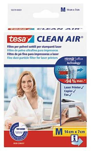 TESA Clean Air M Laserprinter fijnstoffilter Zelfklevend 1 stuks
