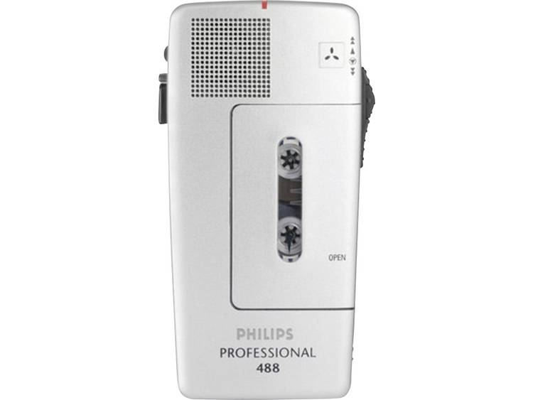 Analoog dicteerapparaat Philips Pocket Memo 488 Zilver