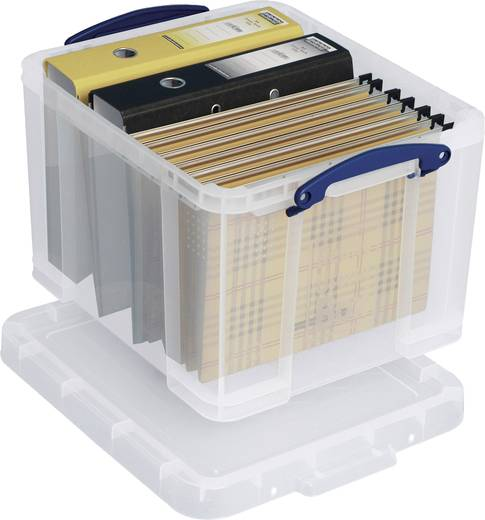 Really Useful Products, 35 liter 'Box' transparant/35C 480x390x310 mm PP