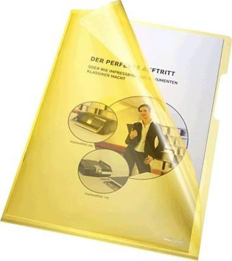 Bene transparante hoes A4, geel/205000 pvc 150 inh.100 stuks
