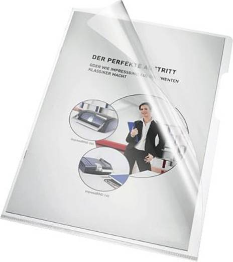 Bene transparante hoes A4, glashelder/205000 pvc 150 inh. 100 stuks
