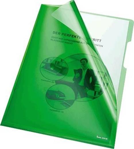 Bene transparante hoes A4, groen/205000 pvc 150 inh.100 stuks
