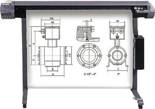 "Heipa inkjet CAD plotterpapier/F725960 91,4 cm x 50 m x 2"" wit 80 g/m²"
