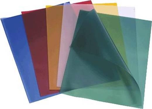 Durable A4-dekblad voor band met klemrails/2943-19 DIN A4 kleurloos inhoud 100 st.
