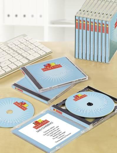 CD slim box inserts Avery-Zweckform J8431-25 121 x 242 mm Speciaal gecoat Inkt 25 stuks Wit