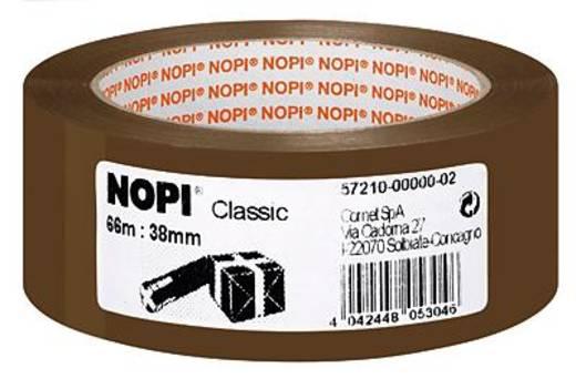 TESA Nopi Pakband Bruin (l x b) 66 m x 38 mm Acryl Inhoud: 1 rollen
