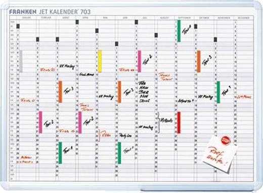 FRANKEN jaarplanner 12 maanden/JK703 60 x 90 cm