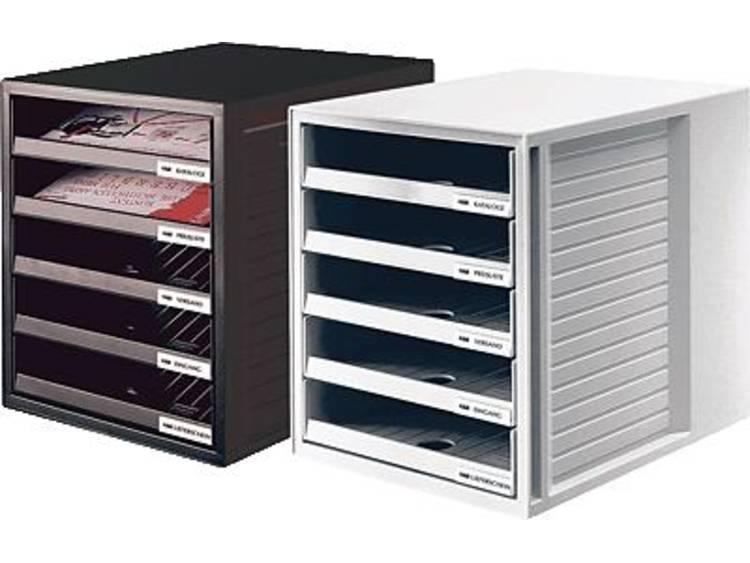 HAN 5 open laden Ladenkastje Zwart A4 Kunststof 27 5 x 33 x 32 cm Stuks